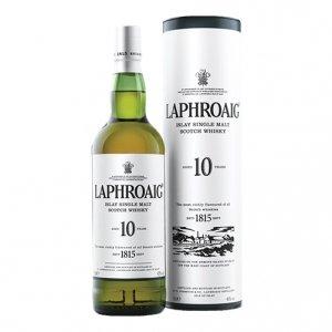 Scotch Whisky Single Malt 10 anni - Laphroaig (0.7l - astuccio)