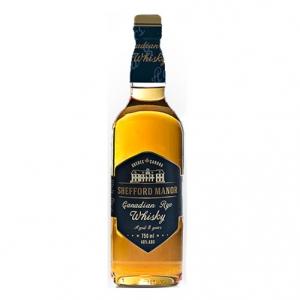 "Canadian Rye Whisky ""Shefford Manor"" - JBE Imports (0.7l)"