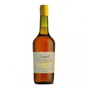 """Calvados Pays d'Auge """"Millesime 1989"""" - Domaine Dupont (0.7l)"""
