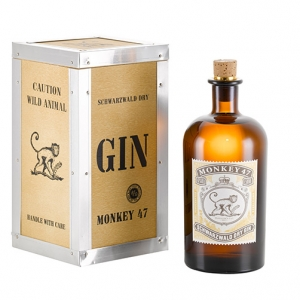 "Dry Gin Monkey 47 ""Distiller's Cut"" 2017 - Schwarzwald Dry Gin (0.5l - cassetta di legno)"
