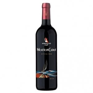 "Bordeaux Rouge ""Limited Edition America's Cup"" - Mouton Cadet, Baron Philippe de Rothschild"