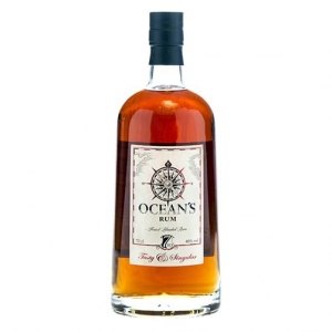 "Blended Rum ""Tasty & Singular"" 7 years old - Ocean's (astuccio)"