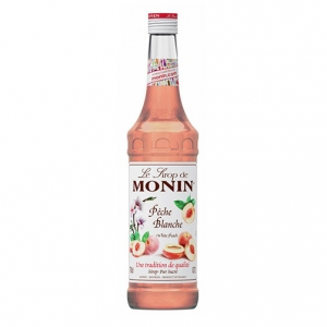 Sirop Peche Blanche - Monin