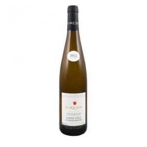 """Alsace Pinot Gris """"Les Argiles Blanches"""" 2016 - Gruss"""