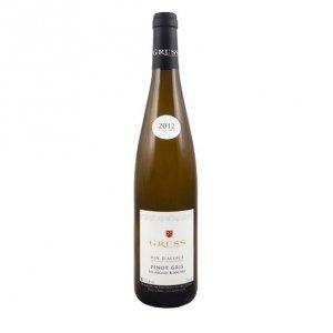 """Alsace Pinot Gris """"Les Argiles Blanches"""" 2017 - Gruss"""