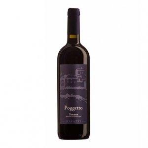 """Toscana Rosso IGT """"Poggetto"""" 2015 - Ravazzi"""