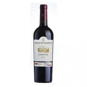 "Sicilia Merlot Nero d'Avola IGT ""Ramione"" 2013 Magnum - Baglio di Pianetto (astucciato)"