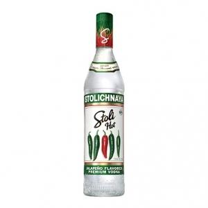 "Vodka Premium Jalapeño Flavored ""Stoli Hot"" - Stolichnaya (0.7l)"