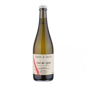 """Vino Bianco Frizzante Sur Lie """"Val di Spin"""" - Vignale di Cecilia"""