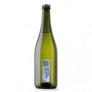"""Vino Bianco Frizzante """"Col Fondo"""" - Zanotto (tappo a corona)"""