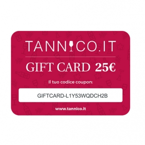 Tannico Gift Card 25 pounds