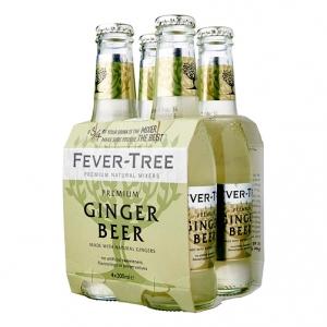 "Soft Drink ""Ginger Beer"" - Fever-Tree (4X200ml)"