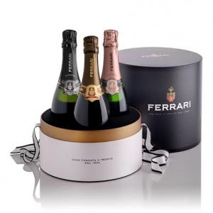"""Trento DOC """"Perlé"""" 2010 - Ferrari (cappelliera con 3 bottiglie)"""