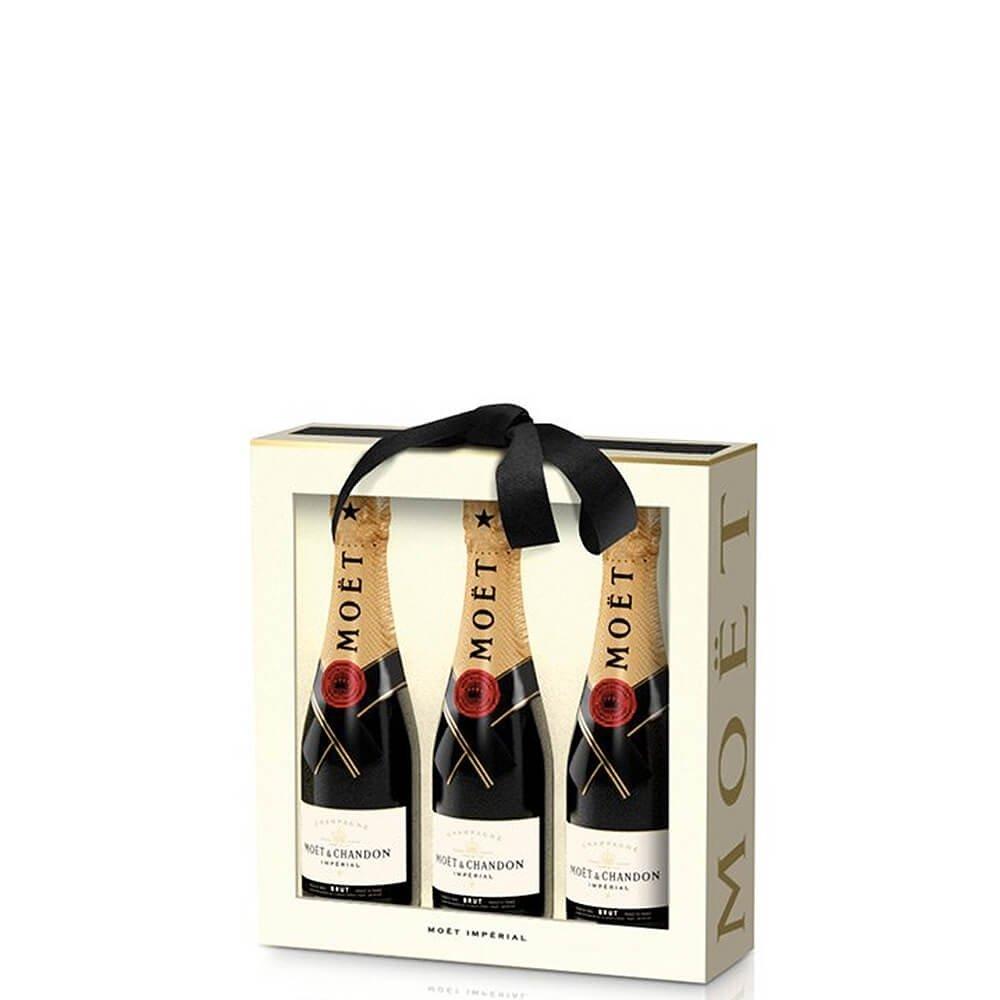 "... Champagne Brut ""Impérial Mini Moët Trio"" - Moët & Chandon (gift box 0.2 ..."
