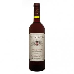 Côtes de Bordeaux AOC Château Deville Rouge 2013 - Château Deville
