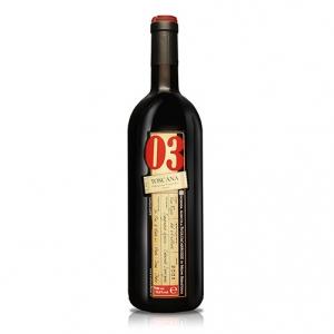 """Toscana Rosso IGT """"03"""" 2003 - Svoltacarrozze"""