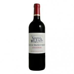 Côtes de Bourg Rouge Elévé en Futs de Chéne 2015 - Château Maine d'Arman, Sovex GrandsChâteaux
