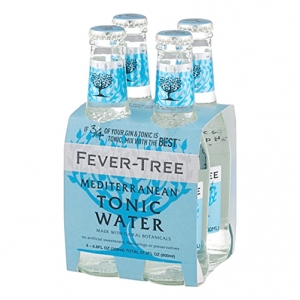 "Tonic Water ""Mediterranean"" - Fever-Tree (4X200ml)"