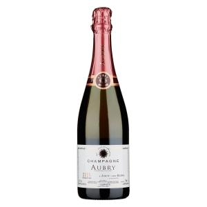 Champagne 1er Cru Brut Rosé - Aubry