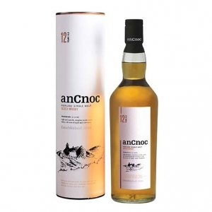 "Highland Single Malt Scotch Whisky ""anCnoc"" 12 years old - Knockdhu Distillery"