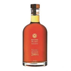 Rum Vieux Traditionnel Millesime 2004 - Rivière du Mat (0.7l)