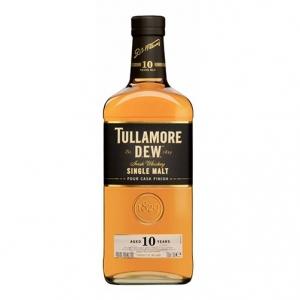 "Single Malt Irish Whiskey ""Four Cask Finish"" 10 years old - Tullamore D.E.W. Distillery"