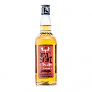"Cinnamon Flavored Canadian Whisky ""Revel Stoke"" - Phillips Distilling Company"