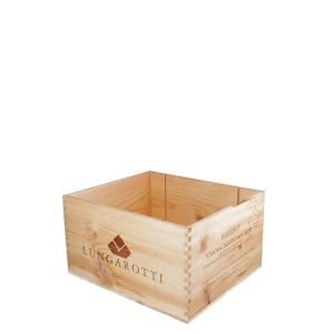 Cassetta legno Rubesco Vigna Monticchio - Lungarotti