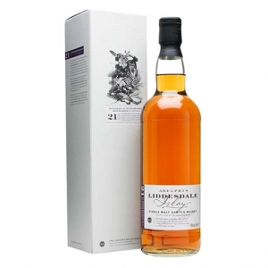 "Single Malt Scotch Whisky ""Liddesdale Batch n° 7"" 21 years old - Adelphi"