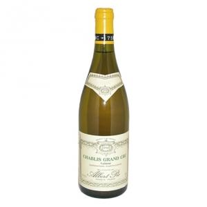 Chablis Grand Cru Valmur 2001 - Albert Pic