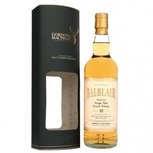 "Single Malt Scotch Whisky ""Balblair 10 Y.O."" - Gordon & Macphail"