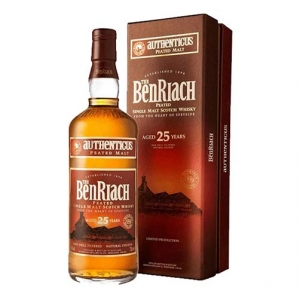 Single Malt Scotch Whisky 25 years old - The BenRiach