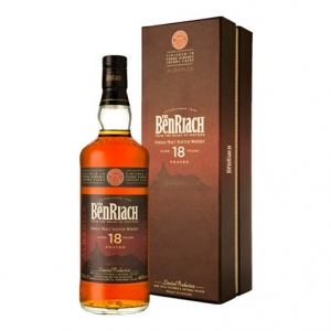 "Peated Single Malt Scotch Whisky ""Albariza"" 18 years old - The BenRiach"