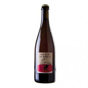 """Vin de France Rosé Pétillant """"Bubbly!"""" - Domaine Le Briseau, NaNa Vins (tappo a corona)"""
