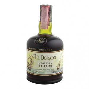 """Finest Demerara Rum 15 years old """"Special Reserve"""" - El Dorado (0.7l)"""