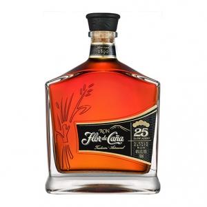 Rum Single Estate Centenario 25 years old - Flor de Caña (0.7l)