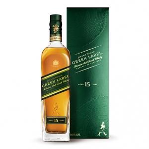 "Blended Malt Scotch Whisky ""Green Label"" 15 years old - Johnnie Walker (0.7l)"