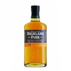 Single Malt Scotch Whisky 12 years old - Highland Park (0.05l)