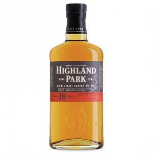 Single Malt Scotch Whisky 18 years old - Highland Park (0.05l)