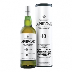 Scotch Whisky Single Malt 10 anni - Laphroaig (0.7l - astuccio)