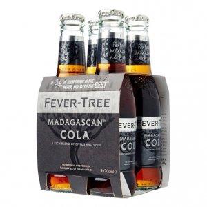 "Soft Drink ""Madagascan Cola"" - Fever-Tree (4X200ml)"