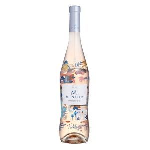 "Côtes de Provence Rosé ""M"" Limited Edition Ashley Mary 2017 - Château Minuty"