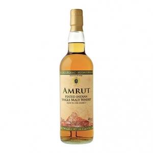Peated Indian Single Malt Whisky - Amrut (0.7l)