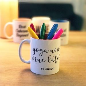 Mug - Yoga Now, Wine Later