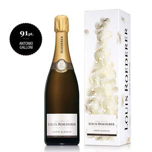 Champagne Carte Blanche Demi Sec