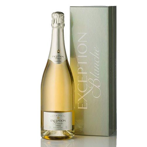 "Champagne Brut Blanc de Blancs Grand Cru ""Exception Blanche"""