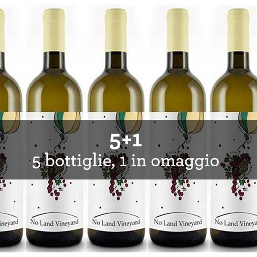 "Venezia Giulia Bianco IGT ""No Land Vineyard"" 2014 (6 bottiglie)"