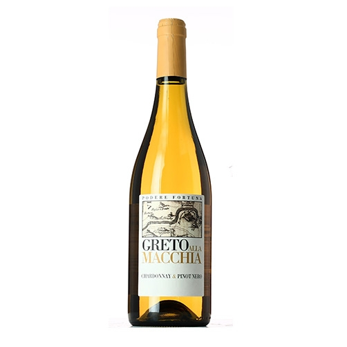 "Toscana Bianco Chardonnay & Pinot Nero IGT ""Greto alla Macchia"""