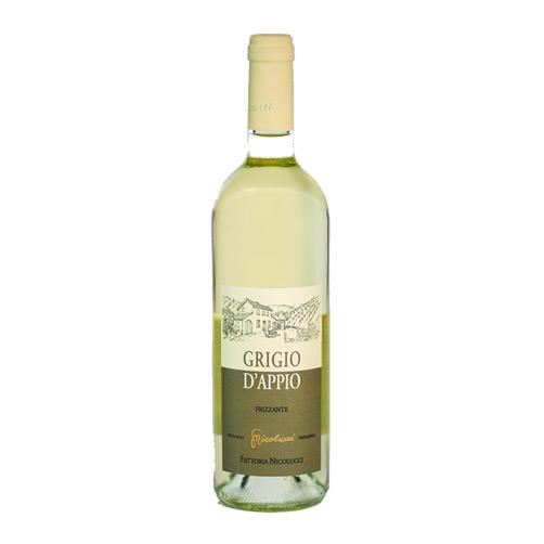 """Vino Bianco Frizzante """"Grigio d'Appio"""""""