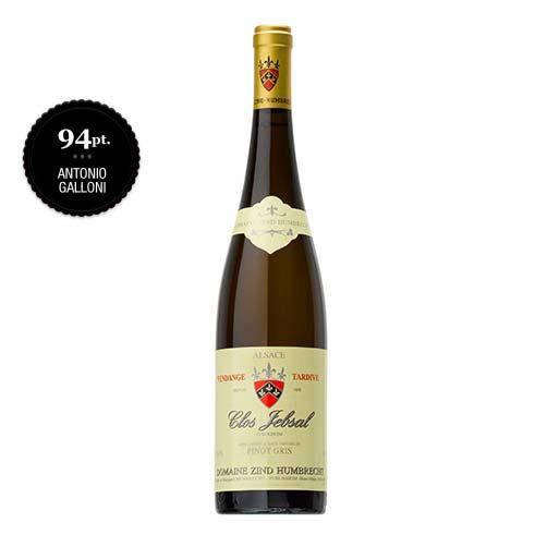 Alsace Pinot Gris Clos Jebsal Vendange Tardive